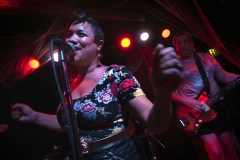 """Beauty and the Beats performs as The Go-Gos during the 2015 """"Come as You Aren't"""" Battle of the Bands Halloween competition Oct. 31 at The Skylark in West Seattle."""