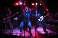"Mind Vice performs as Black Sabbath during the 2015 ""Come as You Aren't"" Battle of the Bands Halloween competition Oct. 31 at The Skylark in West Seattle. Band members include: Walter O'Toole, vocals, Michael Knapp, guitar, Ian ""liquid fingers"" Sides, bass, and Miles Hubbard, drums."
