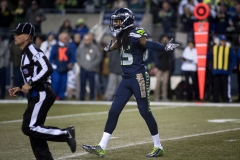 Seahawks cornerback Richard Sherman (25) pleads his case to an official after being flagged for pass interference Nov. 15 during Seattle's 39-32 loss at CenturyLink Field in Seattle.