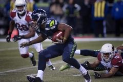 Seahawks receiver Tyler Lockett (16) looks for room to run Nov. 15 during Seattle's 39-32 loss to the Arizona Cardinals at CenturyLink Field in Seattle.